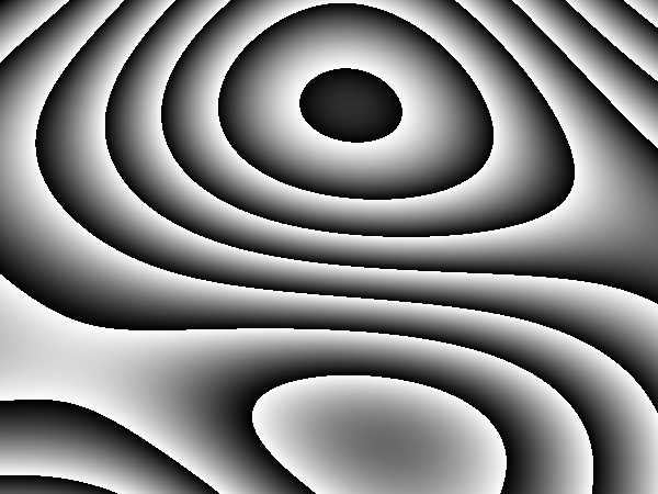 Wood like Perlin noise with modified permutation vector