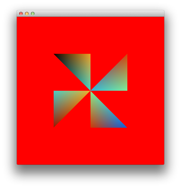 OpenGL 101: Drawing primitives - points, lines and triangles
